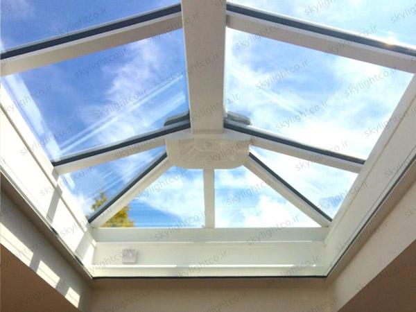 سقف شیشه ای نشکن